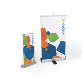 Tabletop retractable banners