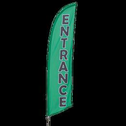 Entrance Feather Flag Kit