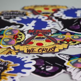 Custom Die Cut Stickers