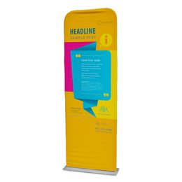 Pillowcase Banner Stand