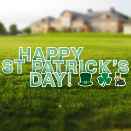 Happy St. Patrick's Day Yard Signs