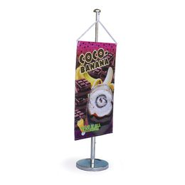 Table Flagpole with Banner
