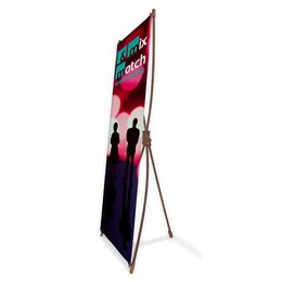 Bamboo X-Banner Stand