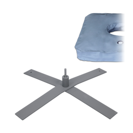 Cross Stand XXL with Connector and Weight Bag Large which can be filled with water or sand