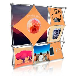Stretch Panel Pop Up Booth 7.4ft x 7.4ft - 3301