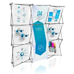 Stretch Panel Pop Up Booth 7.4ft x 7.4ft - 3321