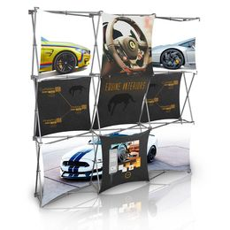 Stretch Panel Pop Up Booth 7.4ft x 7.4ft - 3324