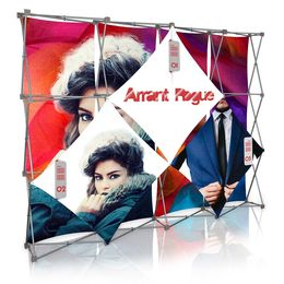 Stretch Panel Pop Up Booth 9.8ft x 7.4ft - 4301