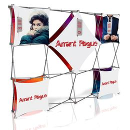 Stretch Panel Pop Up Booth 9.8ft x 7.4ft - 4320