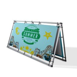 Horizontal A Frame Banner Stand