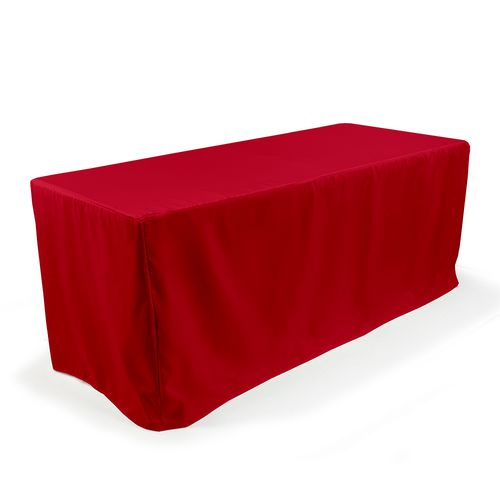 Fitted Stock Color Table Throw