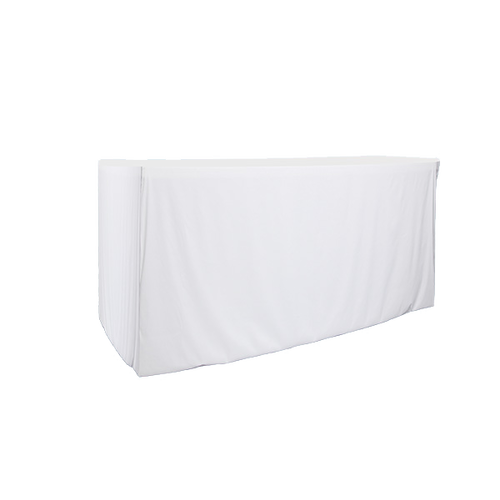 White color table throw