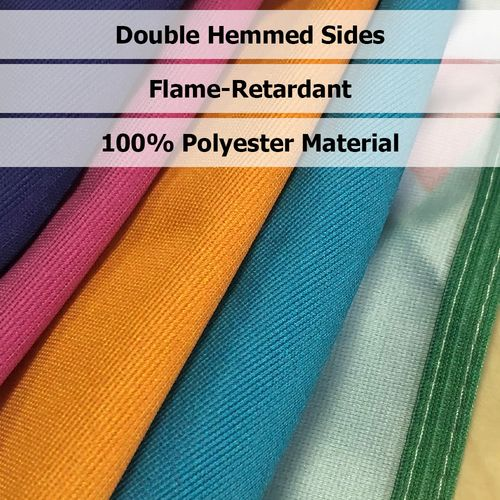 Throw is made with flame-retardant polyester