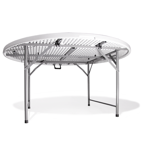 Table includes rubber feet to prevent slipping