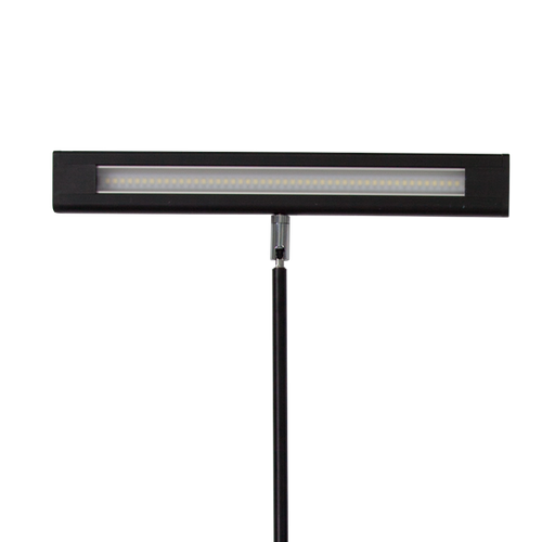 Extra-wide head provides evenly distributed light across the display