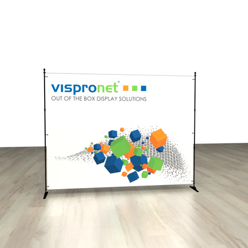 Use the stand to display your graphics at an event