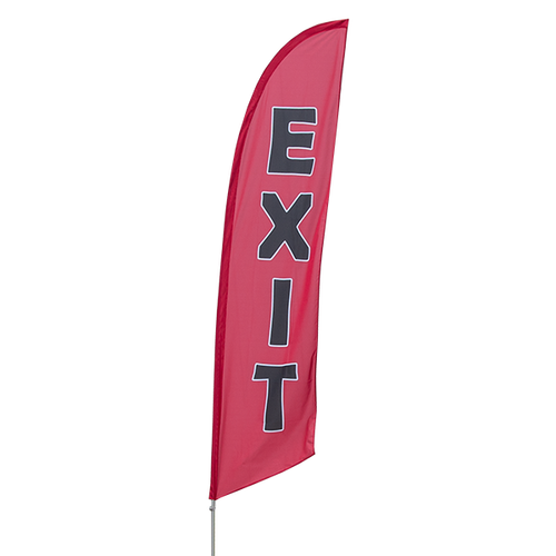 Exit Feather Flag Kit