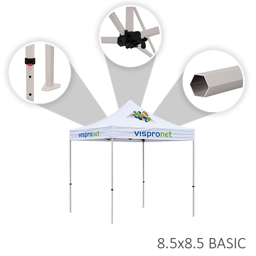 Features of the basic tent frame option