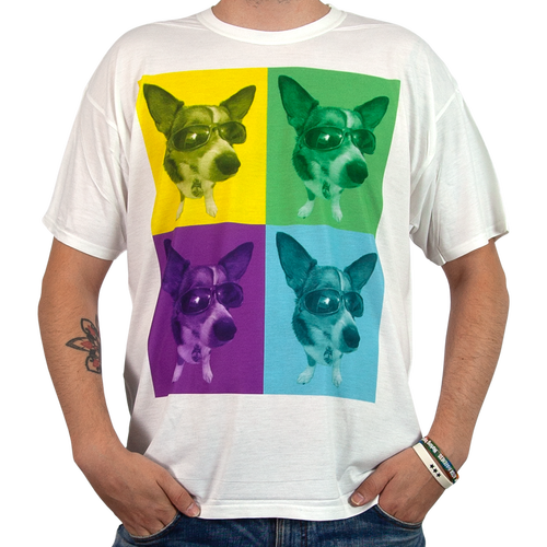 The front and/or back of the Photo T-Shirts can be printed