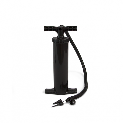 Use optional manual pump for inflation and deflation of insert