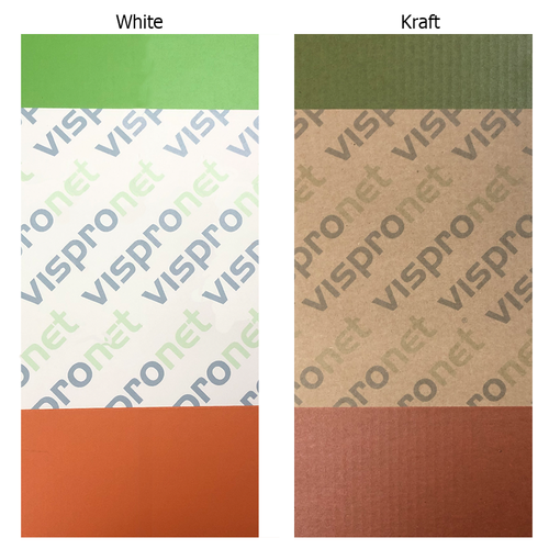 Difference between White and Kraft Mailer Boxes