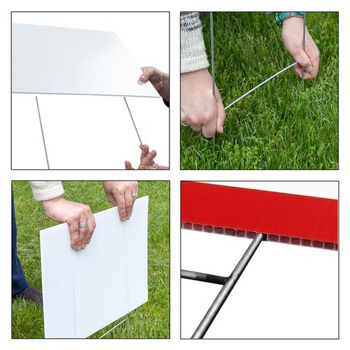 yard sign assembly