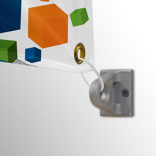 Eyelet bracket used with the wall mount selection