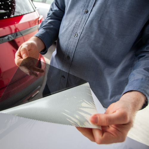 Separating Back Window Graphics From Backing