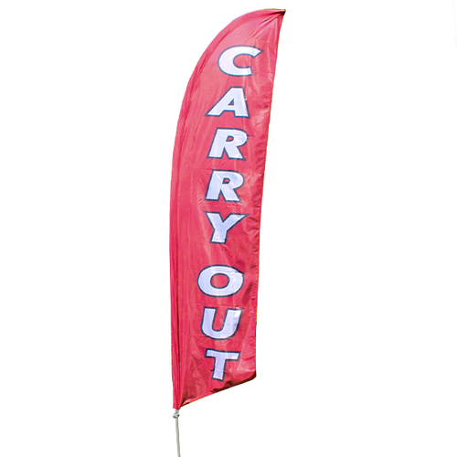 Carry Out Feather Flag Kit