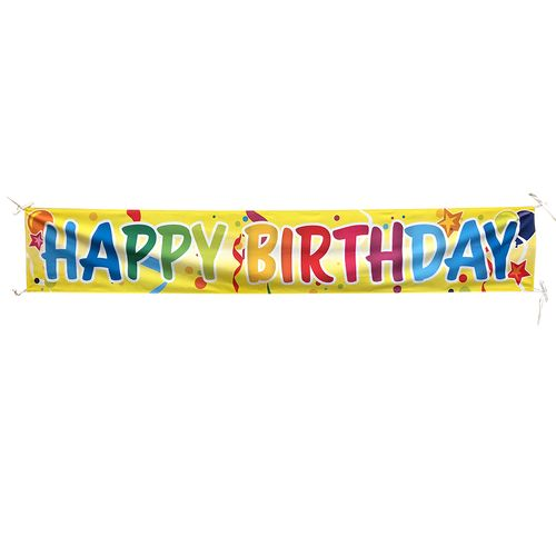 Outdoor Birthday Banners