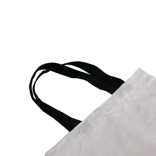 tote bag with polyester handles