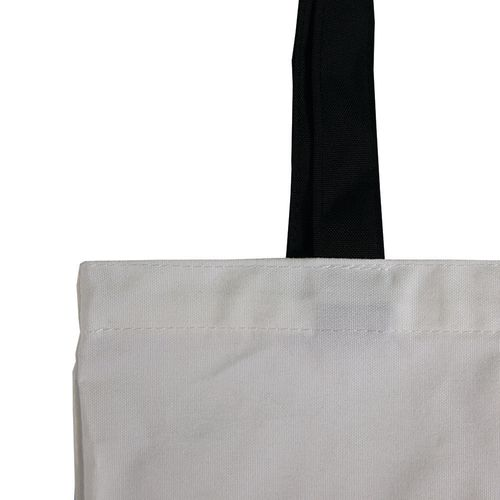 custom tote bag with polyester handles