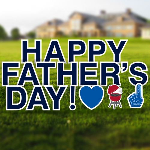Happy Father's Day Signs