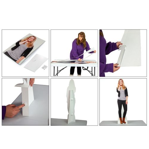 How To Set Up Your Custom Photo Stand In