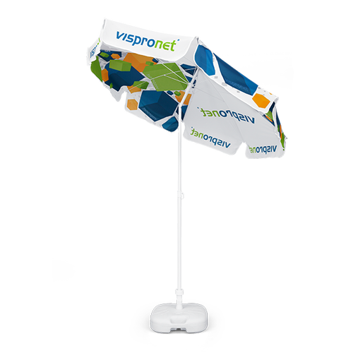 You can tilt your 6.6ft Market Umbrella Standard any way you want thanks to the tilt mechanism