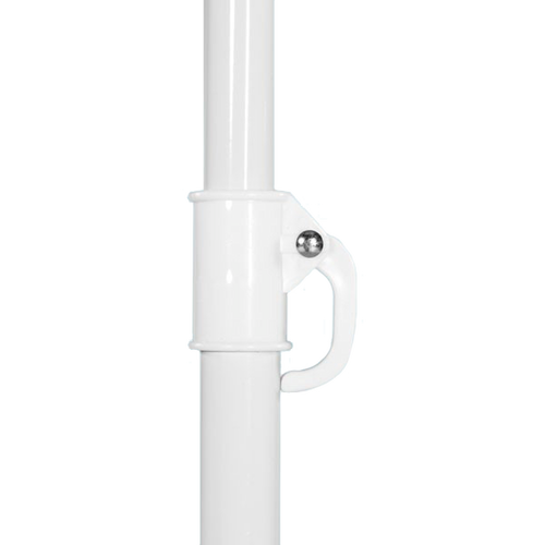 The 6.6ft Market Umbrella Standard is easy to put up and take down, and requires no extra tools