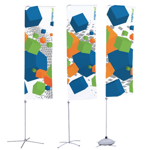 Banner arm models with cross stands