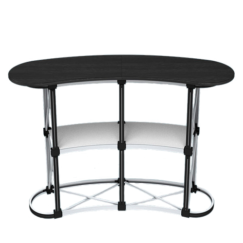 The durable aluminum frame is lightweight and sets up and collapses in seconds