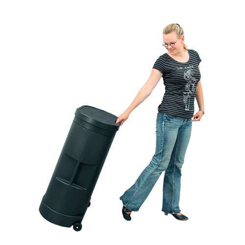 No more lifting! Simply roll your Hardcase Trolley Counter where you need it to go