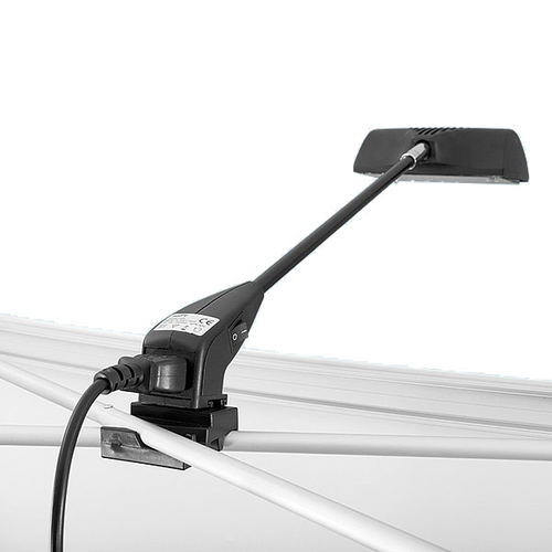 Optional light accessories help you illuminate your display