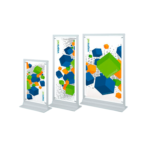 Informative and eye-catching table display in 3 sizes