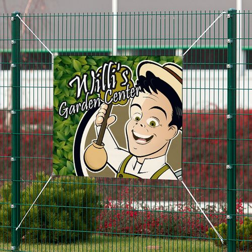Great for outdoor use on fences