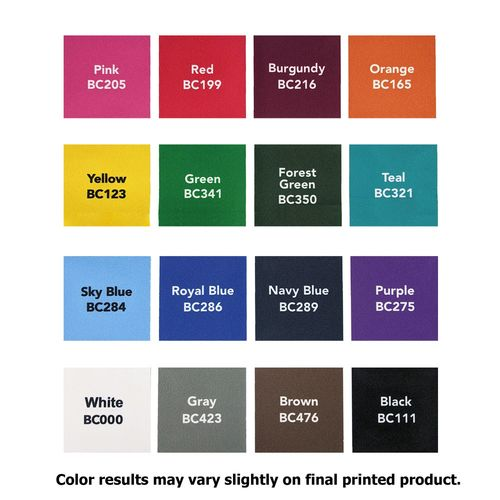Canopy background color choices