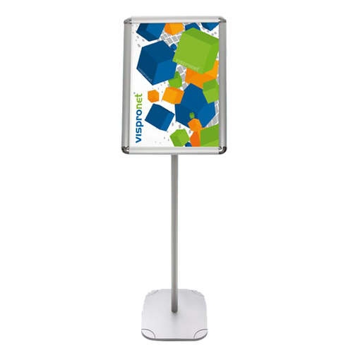 Weighted base keeps sign upright at all times and takes up little room