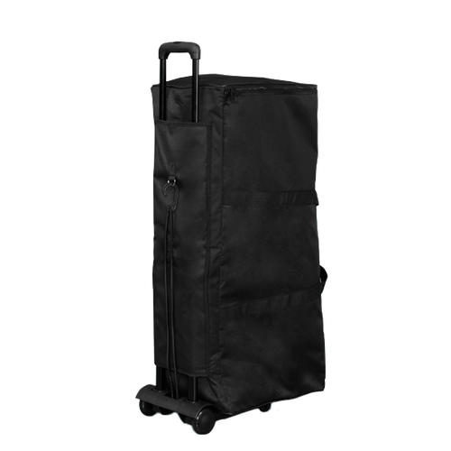 Soft carrying bag can be paired with optional Pop Up Portable Booth Trolley to allow for easy transport