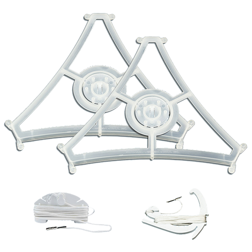 Small 3-Sided Hanging Sign hardware set