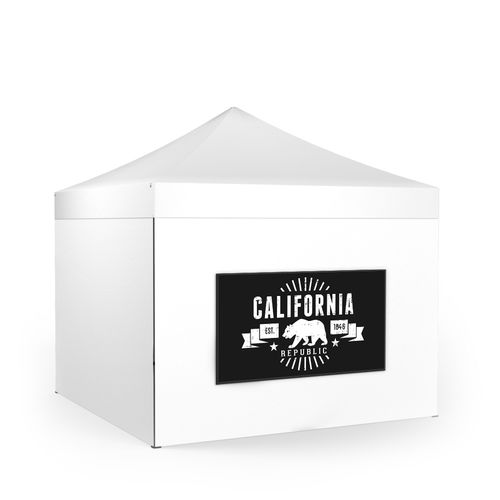 Removable Tent Wall Banner Landscape