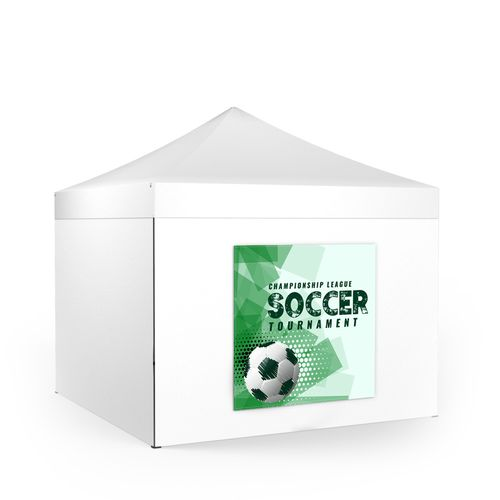 Removable Tent Wall Banner Square